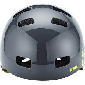 UVEX kid 3 Helmet dirtbike gray-lime
